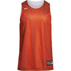 アンダーアーマー Under Armour メンズ バスケットボール トップス【Team Triple Double Reversible Jersey】Orange/White