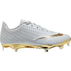 ナイキ Nike メンズ 野球 シューズ・靴【lunar vapor ultrafly elite 2】Wolf Grey/Metallic Gold/Pure Platinum