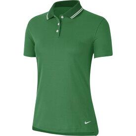 ナイキ Nike レディース ゴルフ ポロシャツ トップス【dry victory solid golf polo】Classic Green/White/White