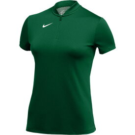 ナイキ Nike レディース ポロシャツ トップス【team authentic dry blade s/s polo】Gorge Green/White