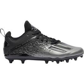 アディダス adidas メンズ アメリカンフットボール シューズ・靴【adizero spark】Core Black/Core Black/Night Metallic
