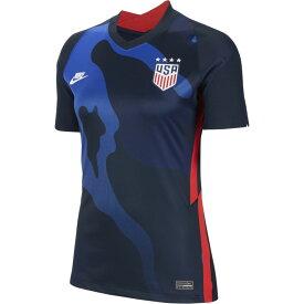 ナイキ Nike レディース サッカー ユニフォーム トップス【soccer breathe stadium jersey】Soccer National Teams USA Dark Obsidian/White