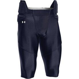 アンダーアーマー Under Armour メンズ アメリカンフットボール ボトムス・パンツ【team integrated football pants】Navy/White