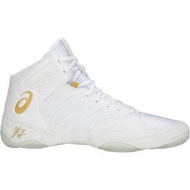 アシックス ASICS メンズ レスリング シューズ・靴【jb elite iii】White/Rich Gold