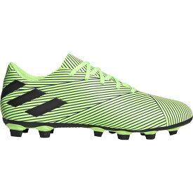 アディダス adidas メンズ サッカー シューズ・靴【nemeziz 19.4 fxg】White/Core Black/Signal Green UNIFORIA