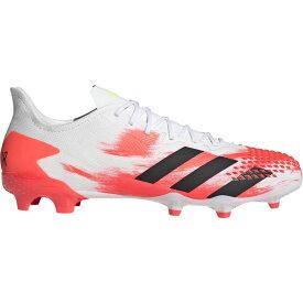 アディダス adidas メンズ サッカー シューズ・靴【predator 20.2 fg】White/Core Black/Pop UNIFORIA