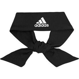 アディダス adidas ユニセックス ヘアアクセサリー ヘッドバンド【alphaskin tie headband】Black/White