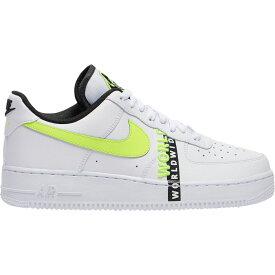 ナイキ Nike メンズ バスケットボール エアフォースワン シューズ・靴【Air Force 1 LV8】White/Volt/Black