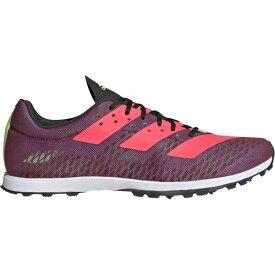 アディダス adidas レディース 陸上 シューズ・靴【adiZero XC Sprint】Core Black/Signal Pink/Signal Green