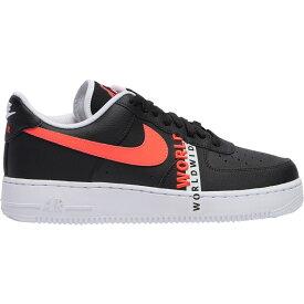 ナイキ Nike メンズ バスケットボール エアフォースワン シューズ・靴【Air Force 1 LV8】Black/Flash Crimson/White