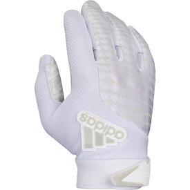 アディダス adidas メンズ アメリカンフットボール レシーバーグローブ グローブ【adiFAST 2.0 Receiver Gloves】White/White