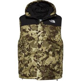 ザ ノースフェイス The North Face メンズ ベスト・ジレ ダウンベスト トップス【Balham Down Vest】Burnt Olive Green Digi Print