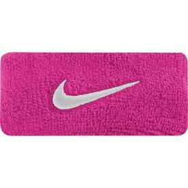 ナイキ Nike メンズ アメリカンフットボール 【Swoosh Bicep Bands】Vivid Pink/White