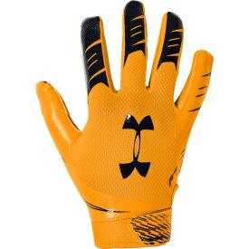 アンダーアーマー Under Armour メンズ アメリカンフットボール レシーバーグローブ グローブ【F7 Receiver Gloves】Steel Town Gold/Black