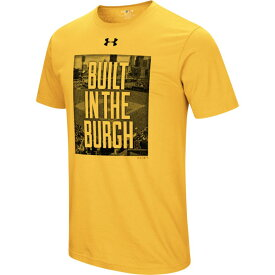アンダーアーマー Under Armour メンズ Tシャツ トップス【MLB Built In T-Shirt】MLB Pittsburgh Pirates Gold
