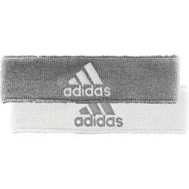 アディダス adidas メンズ ヘアアクセサリー ヘッドバンド【Interval Reversible Headband】Heathered Aluminum/White