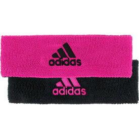アディダス adidas メンズ ヘアアクセサリー ヘッドバンド【Interval Reversible Headband】Shock Pink/Black
