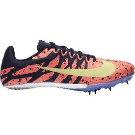 ナイキ Nike レディース 陸上 シューズ・靴【Zoom Rival S 9】Bright Mango/Light Zitron/Blackened Blue