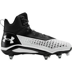 アンダーアーマー Under Armour メンズ アメリカンフットボール シューズ・靴【Hammer MC D】Black/White