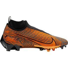 ナイキ Nike メンズ アメリカンフットボール シューズ・靴【Vapor Edge Pro 360】Black/Metallic Gold/Total Orange OBJ