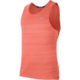 ナイキ Nike メンズ ランニング・ウォーキング タンクトップ トップス【Dry Miler Tank】Bright Mango/Reflective Silver