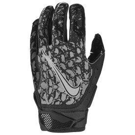 ナイキ Nike メンズ アメリカンフットボール レシーバーグローブ グローブ【Vapor Jet 6.0 OBJ Receiver Gloves】Black/Black/Metallic Silver ANIMAL INSTINCT PRINT
