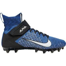 ナイキ Nike メンズ アメリカンフットボール シューズ・靴【Alpha Menace Elite 2】Game Royal/White/Black/Black