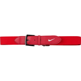 ナイキ Nike メンズ 野球 ベルト【Baseball Belt 2.0】University Red/White