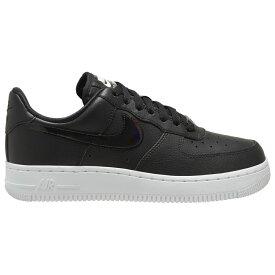 ナイキ Nike レディース バスケットボール エアフォースワン シューズ・靴【Air Force 1 07 LE Low】Black/Black/White