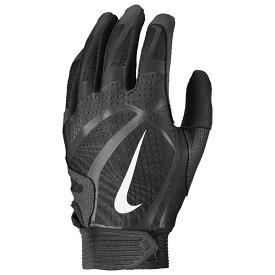 ナイキ Nike レディース 野球 バッティンググローブ グローブ【Hyperdiamond Pro Batting Gloves】Black/Black/Black/White