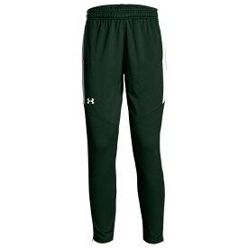 アンダーアーマー Under Armour Team レディース フィットネス・トレーニング ボトムス・パンツ【Team Rival Knit Warm-Up Pants】Green/White