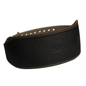 """ハービンジャー Harbinger メンズ フィットネス・トレーニング ベルト【6"""" Padded Leather Belt】Black"""