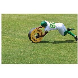 フィッシャー Fisher Athletic ユニセックス アメリカンフットボール 【Pursue and Tackle Wheel】Green