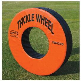 フィッシャー Fisher Athletic ユニセックス アメリカンフットボール 【Pursue and Tackle Wheel】Orange