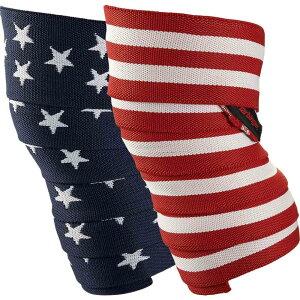 ハービンジャー Harbinger メンズ フィットネス・トレーニング 【Red Line Knee Wraps】Flag