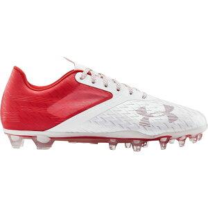 アンダーアーマー Under Armour メンズ アメリカンフットボール シューズ・靴【BLUR LUX MC】Red/White/Red