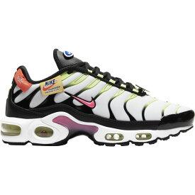 ナイキ Nike レディース ランニング・ウォーキング エアマックス シューズ・靴【Air Max Plus】White/Hyper Pink/Black Just Do It Yourself
