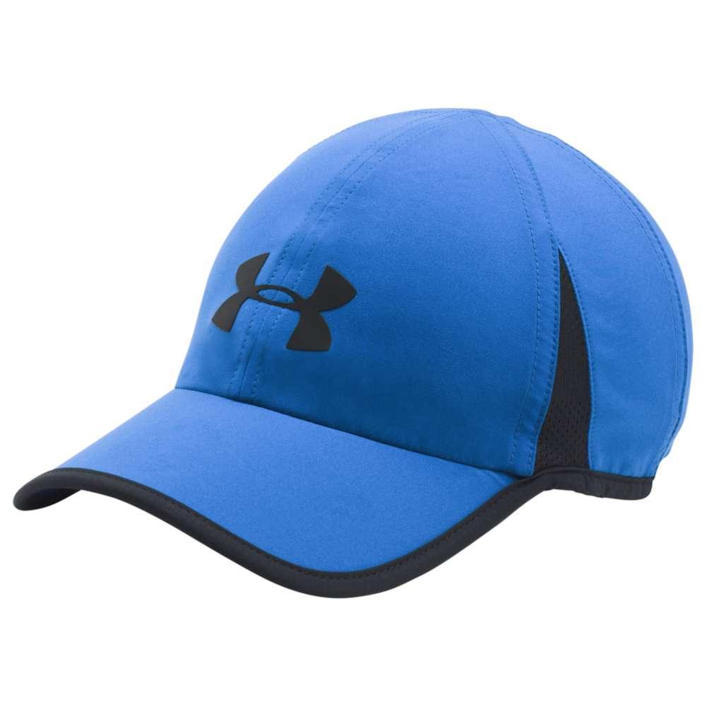 アンダーアーマー メンズ ランニング 帽子【Under Armour Shadow Cap 4.0】Blue Marker/Black/Reflective