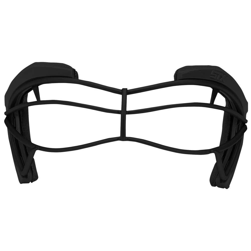 エスティーエックス レディース ラクロス ゴーグル【STX 4Sight View Lax Goggles】Black