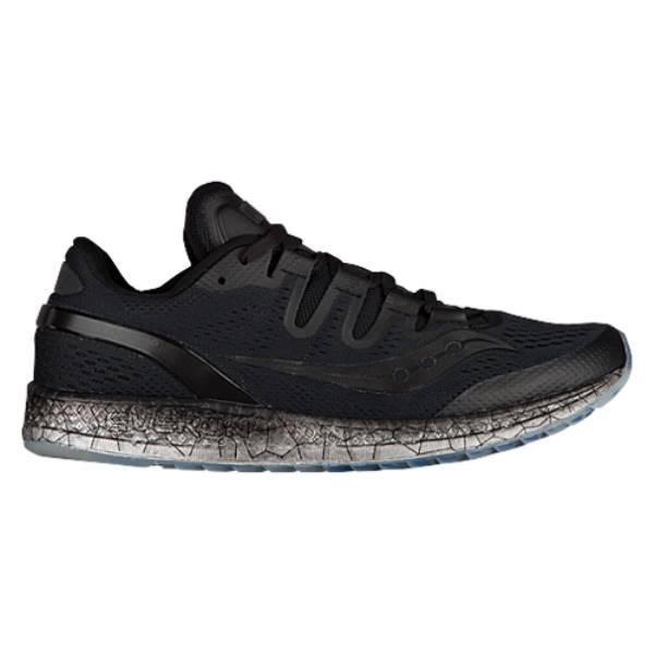 サッカニー レディース ランニング・ウォーキング シューズ・靴【Saucony Freedom ISO】Black