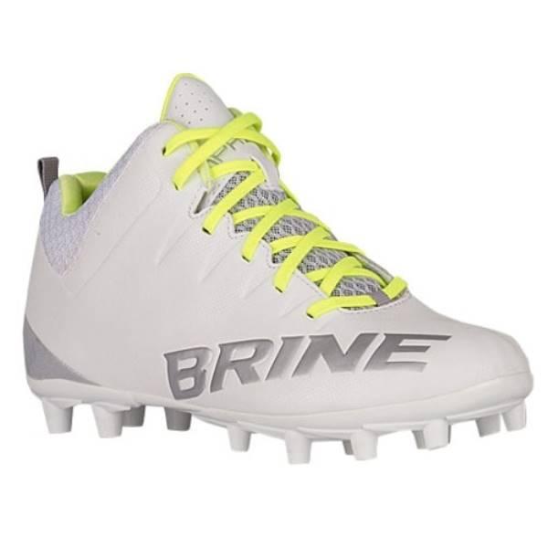 ブライン レディース ラクロス シューズ・靴【Brine Empress 2.0 Mid TPU】White/Gray
