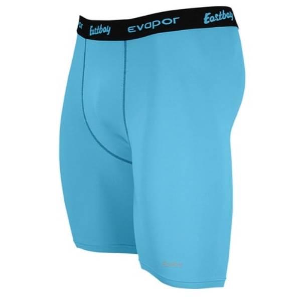 """イーストベイ メンズ 野球 ウェア ボトムス【Eastbay EVAPOR 8"""" Compression Shorts 2.0】Columbia Blue"""