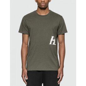 ヘルムート ラング Helmut Lang メンズ Tシャツ トップス【Standard Monogram T-Shirt】Pewter Grey