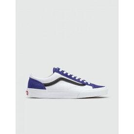 ヴァンズ Vans メンズ スニーカー シューズ・靴【Retro Sport Style 36】Royal Blue/True White