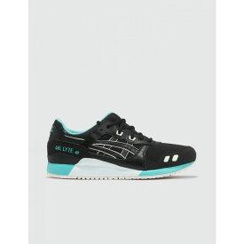 アシックス Asics メンズ スニーカー シューズ・靴【Gel-LYTE III】Black/Aqua Blue