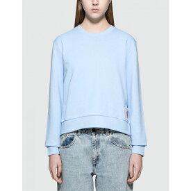 カルバンクライン Calvin Klein Jeans レディース スウェット・トレーナー トップス【Harrisi Sweatshirt】Blue