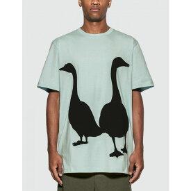 ロエベ Loewe メンズ Tシャツ トップス【goose oversized t-shirt】Baby Blue