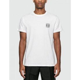 ロエベ Loewe メンズ Tシャツ トップス【anagram t-shirt】White