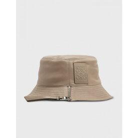ロエベ Loewe レディース ハット 帽子【Nappa Calfskin Fisherman Hat】Sand