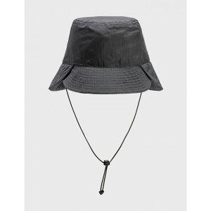 ノズルクイズ Nozzle Quiz メンズ ハット バケットハット 帽子【WK.P-02 CONVERTIBLE BUCKET HAT】Grey